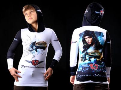кенгурушка черная молния (art-t-shirt59)