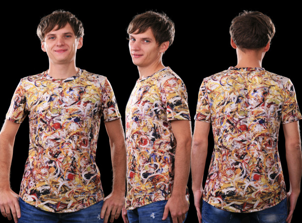 футболка джексон полок (art-t-shirt07)