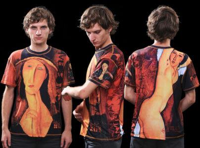 футболка модильяни (art-t-shirt05)