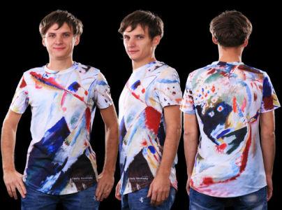 футболка кандинский (art-t-shirt10)