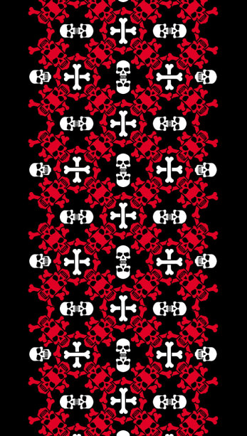 Автовышиванка красно черная (embroidery_49)