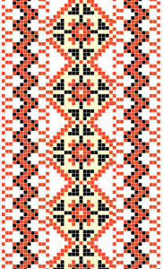 Авто вышиванка ромб (embroidery_18)