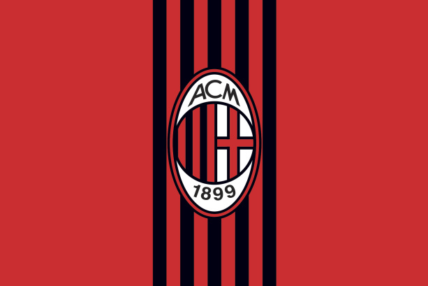 флаг AC Milan (football-00023)