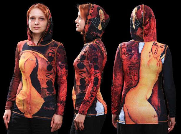 кенгурушка модильяни (art-t-shirt35)