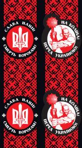 Автовышиванка Слава нації смерть ворогам (embroidery_36)