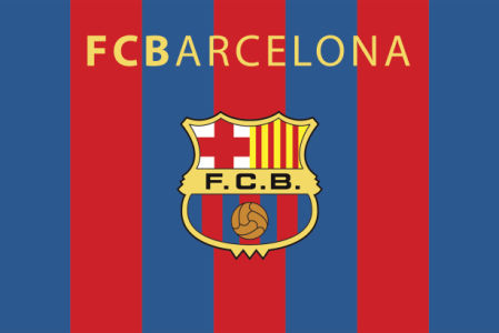 флаг FC Barcelona (football-00020)