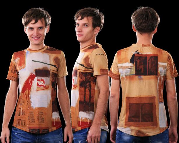 футболка раушеберг (art-t-shirt12)