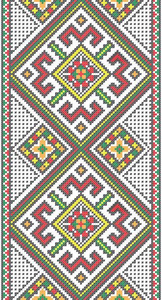 Авто вышиванка узор (embroidery_8)