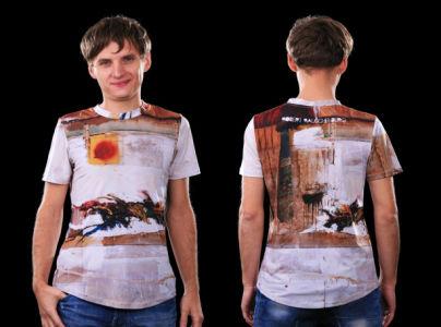 футболка раушенберг (art-t-shirt09)