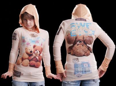 кенгурушка медвежата (art-t-shirt56)