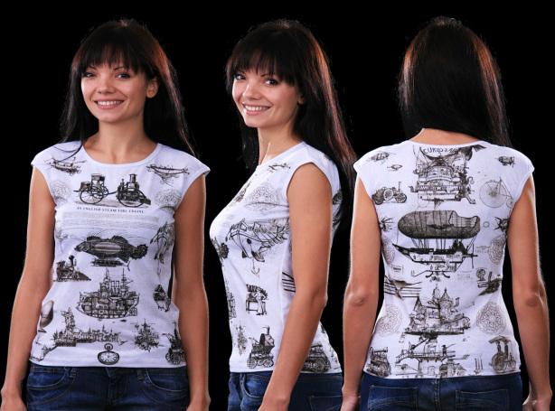 футболка викторианская (art-t-shirt31)