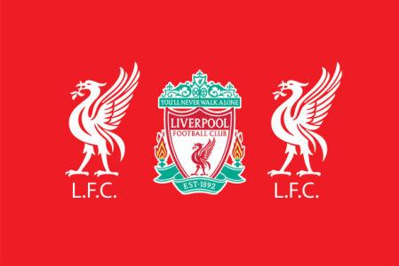 флаг фк Ливерпуль (football-00021)