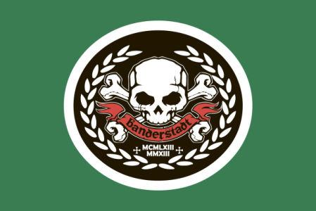 Флаг Бандерштат (football-00017)