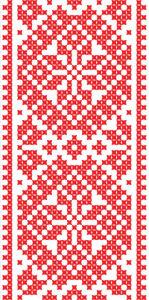 Авто вышиванка красное и белое (embroidery_9)