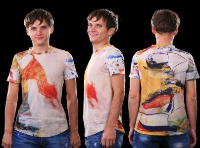 футболка абстракт (art-t-shirt08)