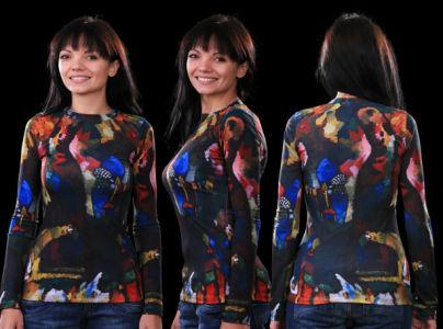 футболка кандинский (art-t-shirt32)