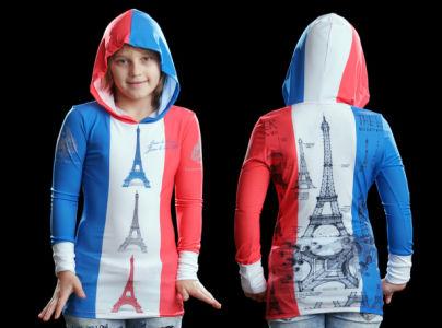 кенгурушка эйфелева башня (art-t-shirt55)