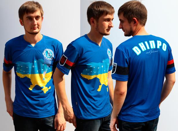 ФУТБОЛКА дніпро моя родина (fan-t-shirt_009)