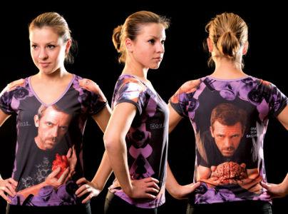 футболка доктор хаус (art-t-shirt84)