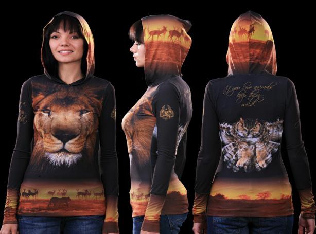 кенгурушка сафари (art-t-shirt30)